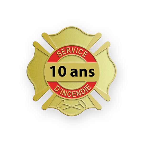 ÉPINGLETTES 10 ANS SERVICES