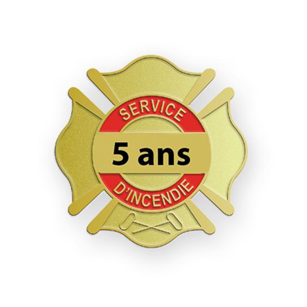 ÉPINGLETTE 5 ANS SERVICES