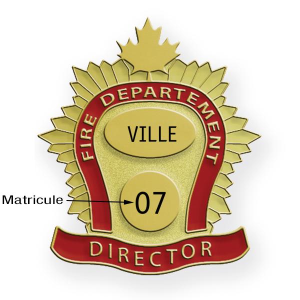 Insigne feuille d'érable (or)